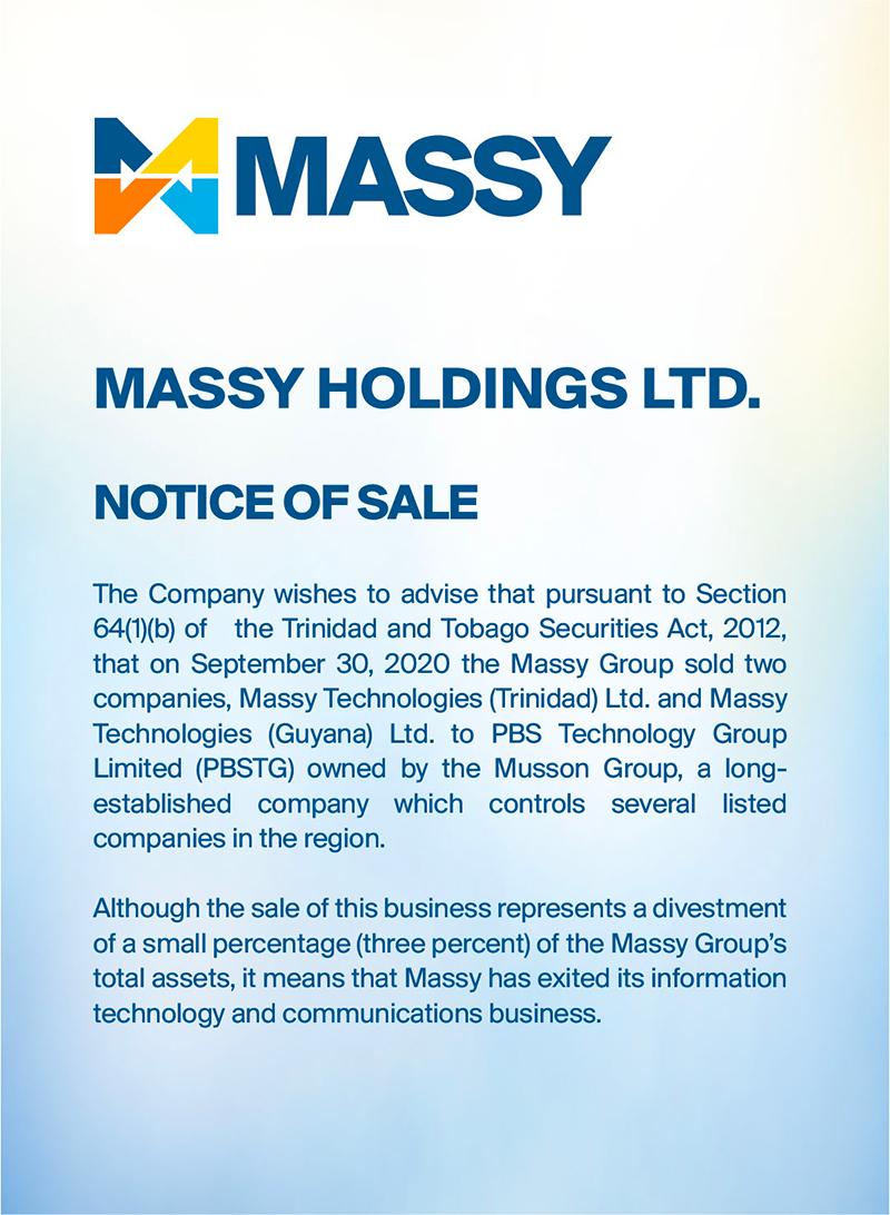 Notice of Sale